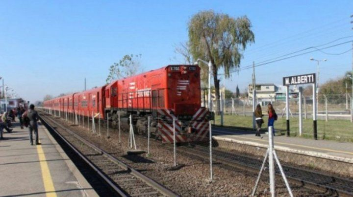 Dos adolescentes arrollados por un tren en Pilar