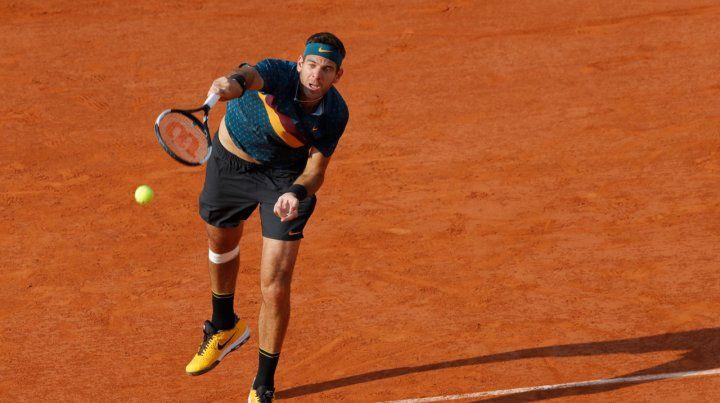No alcanzó. Juan Martín Del Potro fue superado por el ascendente tenista ruso.