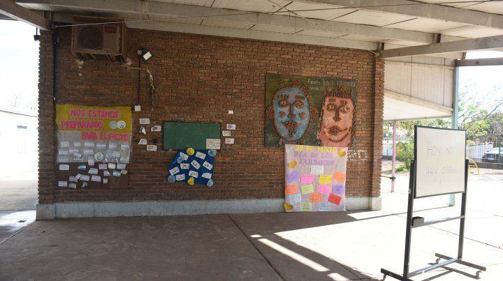 La escuela bilingüe Nº 1380 ubicada en la zona oeste