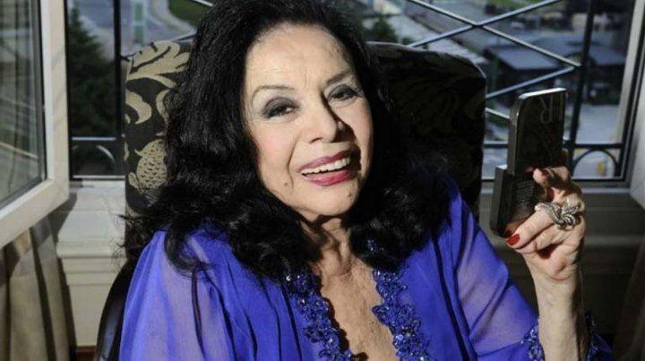 La actriz Isabel Sarli
