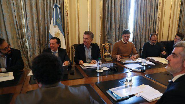 Subsidios. Macri se reunió con empresasrios del sector automotor.