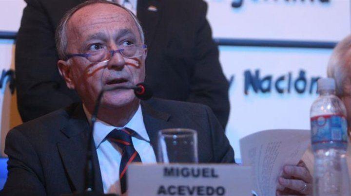 El presidente de la UIA no ve repunte económico: Está todo bajo cero