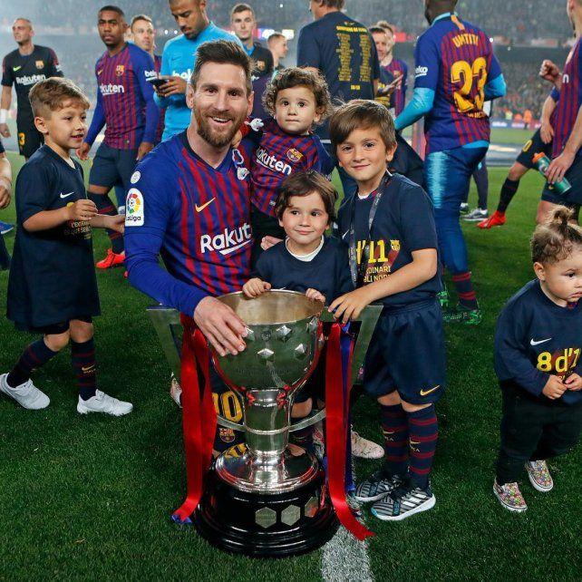 Messi contó que su hijo Mateo festeja los goles de Real Madrid