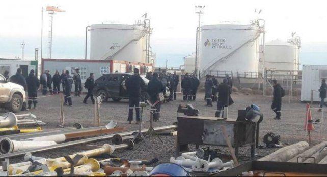 El tiroteo se registró esta mañana en una planta de Shell. Foto: (gentileza lmnneuquén)