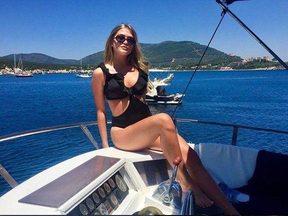 Sofia Calzetti, la nueva novia del Kun Agüero.