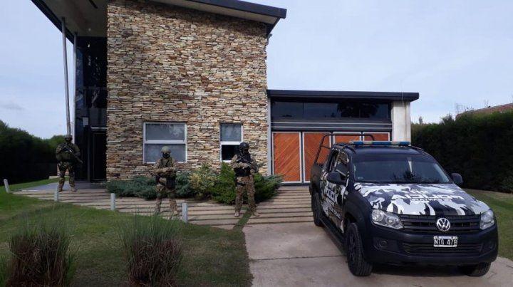 Allanamientos en barrios privados por la causa de Alvarado