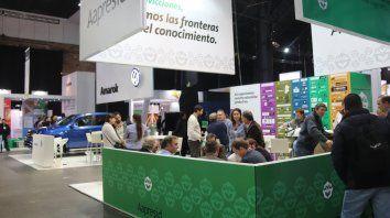 Mitín. El congreso de Aapresid reúne a cientos de productores agropecuarios, ingenieros agrónomos y diferentes profesionales del sector agropecuario.