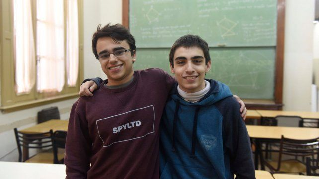 Matías Raimundez y Julián Cabrera