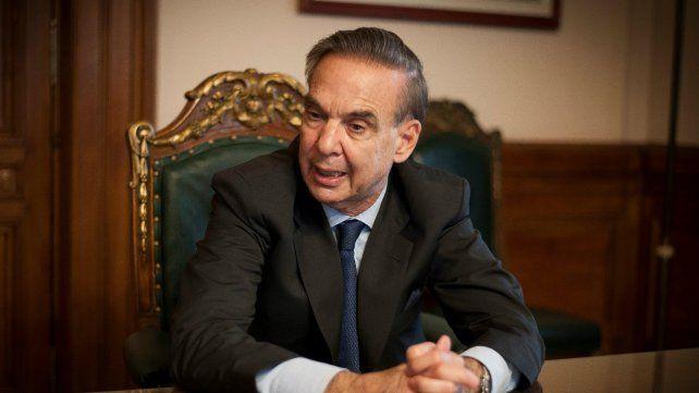 Pichetto lanzó duras críticas al ex ministro