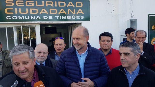 En acción. González