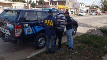 Sin escape. Agentes federales apresaron al suboficial Guillermo S. en una casa de Rivarola al 7100, en zona oeste.