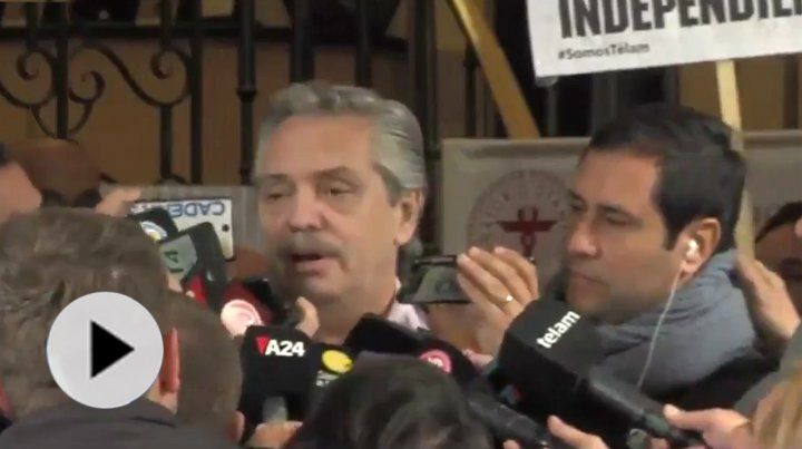 Alberto Fernández recibió el alta y dijo que su vida será normal
