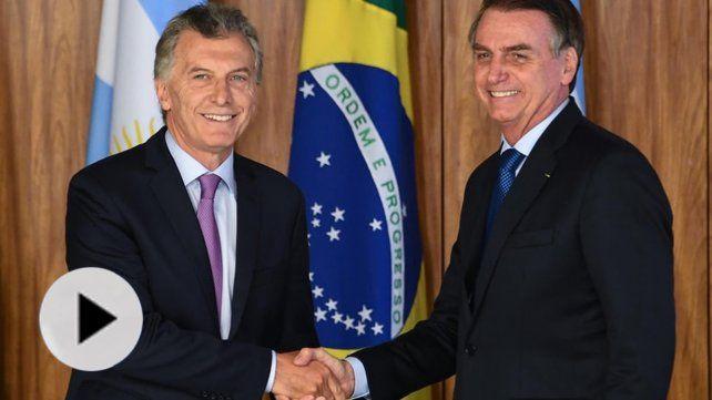El presidente de Brasil comienza su primera visita oficial a la Argentina