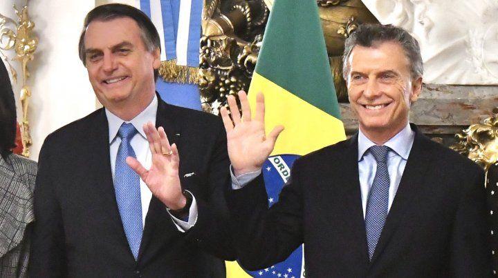 Bolsonaro les pidió a los argentinos votar con mucha responsabilidad y menos emoción