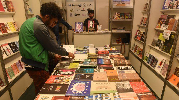 La Feria del Libro tuvo gran convocatoria.