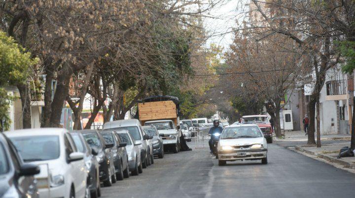 Por el renovado corredor que une el sur con el centro rosarino ayer volvieron a transitan los vehículos.
