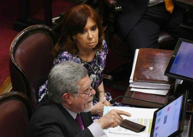 Nuevo procesamiento. La senadora Cristina Fernández de Kirchner.