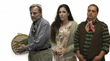 Equipo. Julio Chianetta, Andrea López Mediza y Hugo Bruschini, protagonistas.