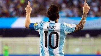 El astro rosarino será la estrella excluyente en la Copa América.-