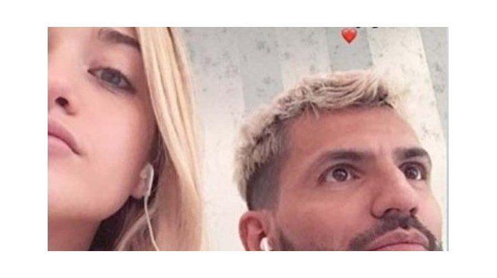 Aparecieron fotos que vinculan a la novia del Kun con otro Agüero