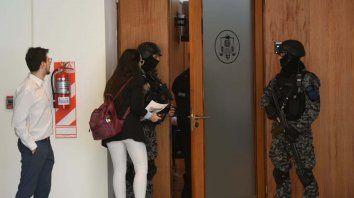 Acusan a Esteban Alvarado de los tres últimos atentados al Poder Judicial