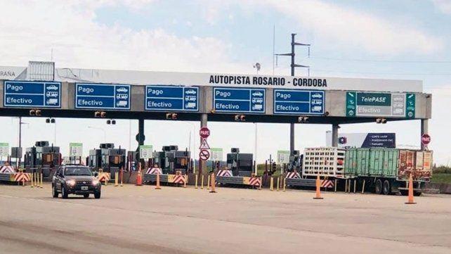 Dictan la conciliación obligatoria y los peajes en la autopista a Córdoba vuelven a funcionar