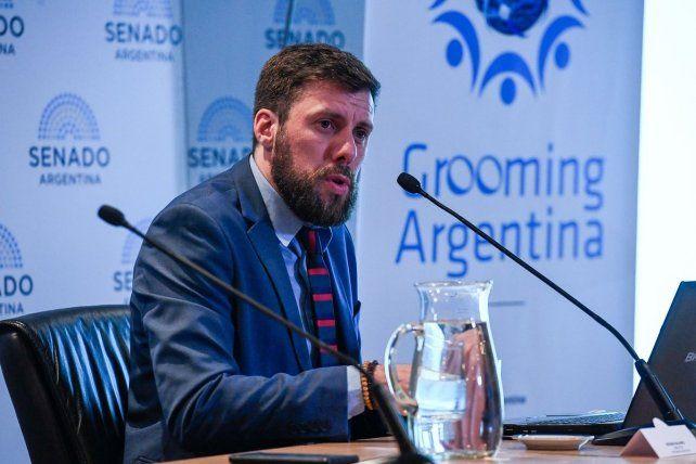 Hernán NMavarro, referente de la ONG Grooming Argentina.