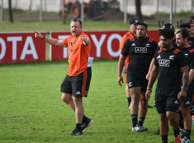 Futuras estrellas. Los jugadores de Nueva Zelanda mostraron sus destrezas.