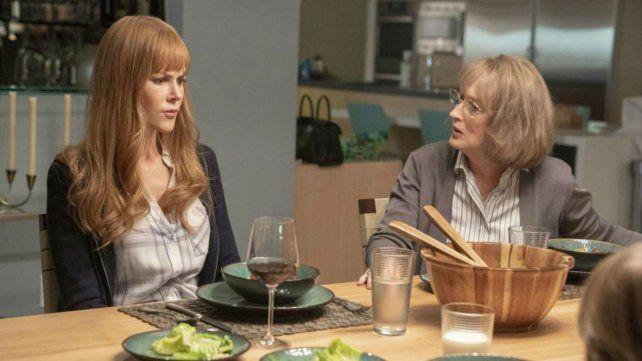 Enfrentadas. Nicole Kidman y Meryl Streep como la nuera y su suegra en busca de la verdad.
