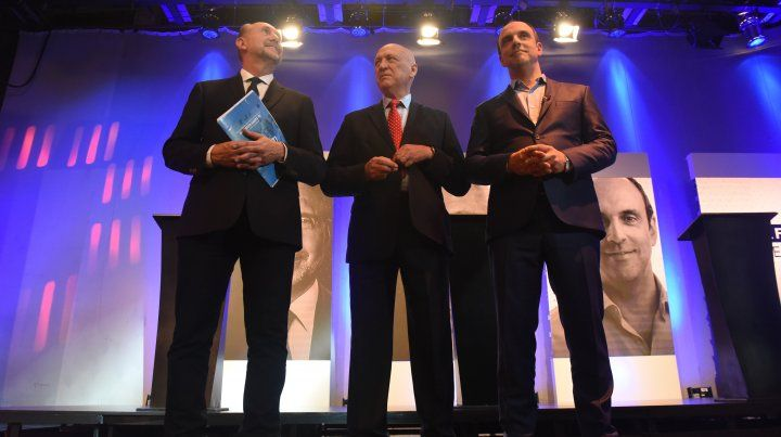 Los candidatos a gobernador pidieron el voto en un debate de bajo riesgo