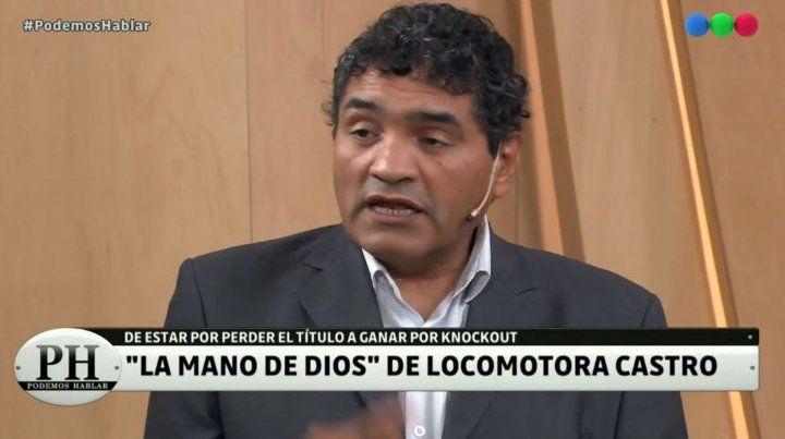 Locomotora Castro recordó que salió campeón gracias a la mano de Dios