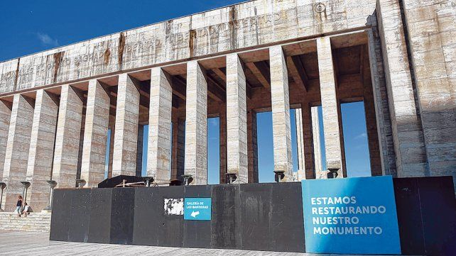 Historia sin final. La restauración del Monumento suma dilaciones. El gobierno nacional asegura que ya se hizo el 82 por ciento del trabajo.