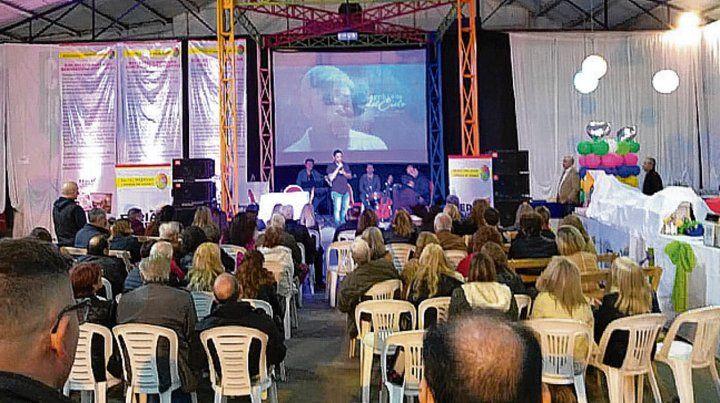 Imágenes. En la Feria del Libro de Cañada recordaron a Gasparetti.