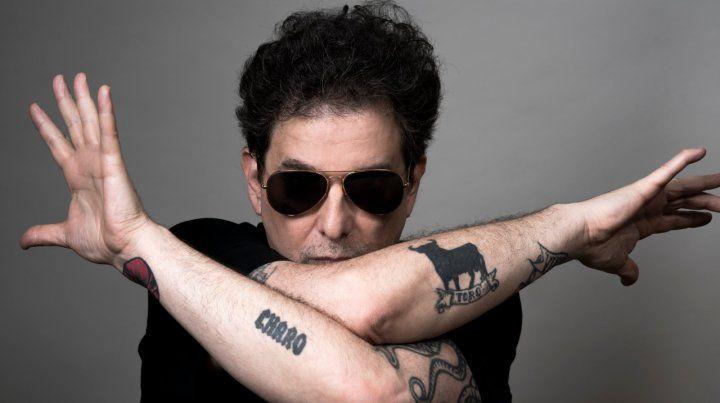 Calamaro presentó su nuevo corte y video My mafia