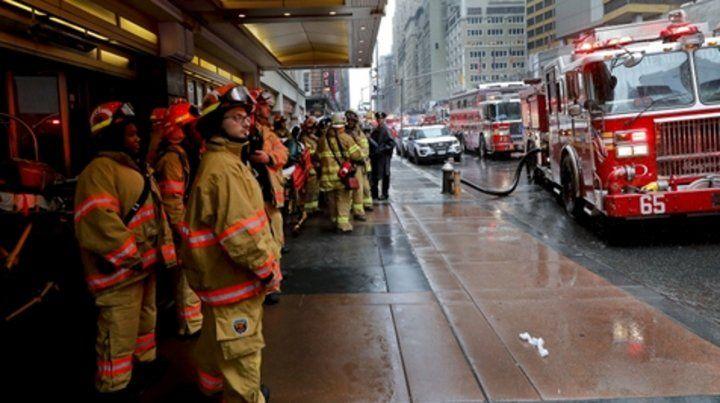 Nueva York. Desplegaron un operativo similar al de las Torres Gemelas.