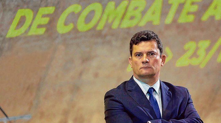 firme. Sergio Moro