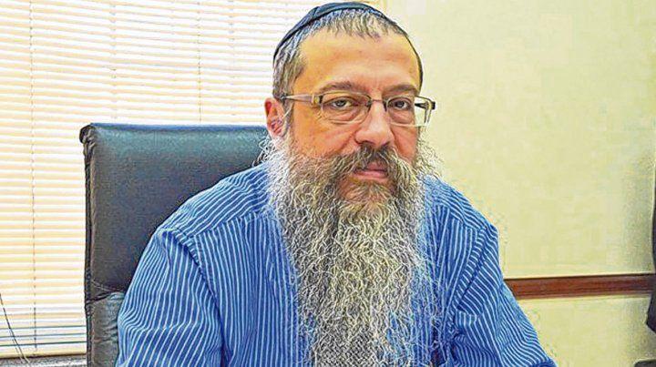 víctima. El rabino Shlomo Tawil lleva cerca de 30 años al frente del templo Beit Jabad