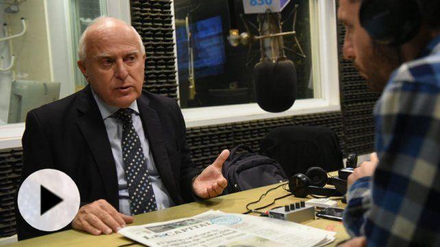 Lifschitz: El santafesino confiará en nuestro proyecto político porque es coherente