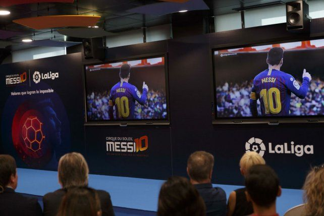 Messi por un día: la experiencia interactiva que permite ponerse en la piel del crack