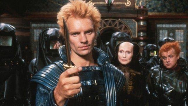 Villano. Sting en el filme original.