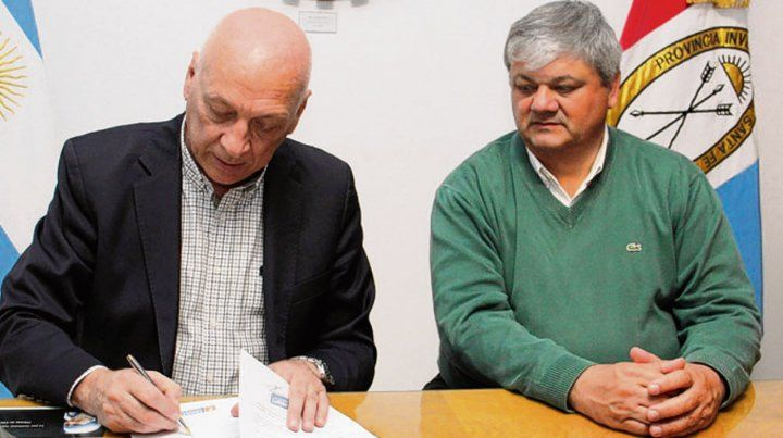 En sintonía. Bonfatti y Ricci prometieron trabajar por la ciudad.