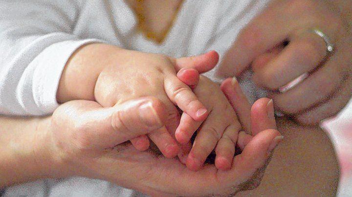 familia. Los niños están hoy con otra familia