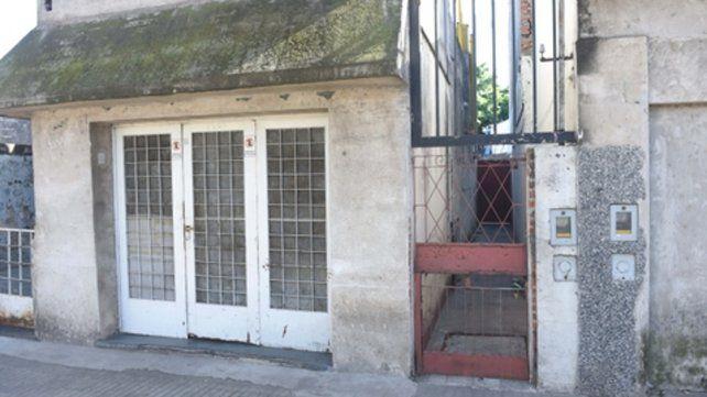 La casa del horror. La vivienda de barrio Cura donde la mujer vivió un largo calvario.