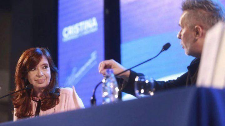 Cristina no hizo mención a la fórmula Macri-Pichetto en Santiago del Estero