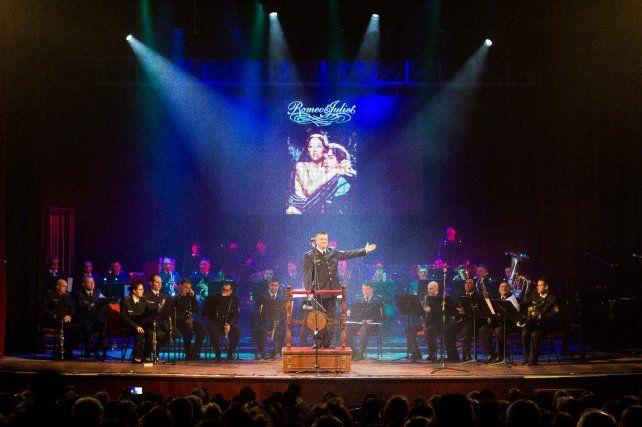 La banda sinfónica de la policía provincial dará un concierto en el teatro El Círculo