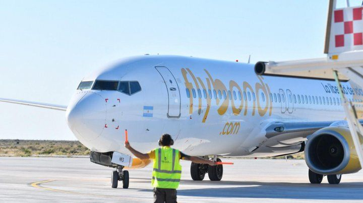 Flybondi es la tercera aerolínea que más pasajeros transportó en el país