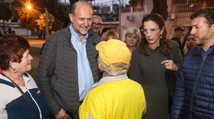 Perotti y Bielsa recorrieron juntos las ciudades de Reconquista
