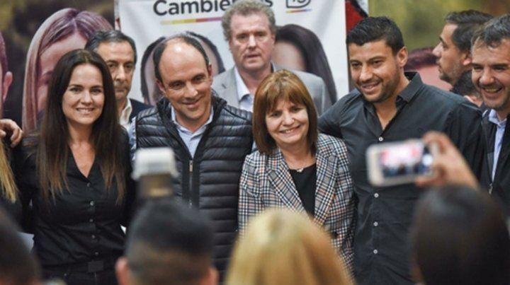 Bullrich cerró con los candidatos de Cambiemos la campaña en Rosario.