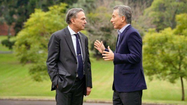 quinta presidencial. Pichetto y Macri