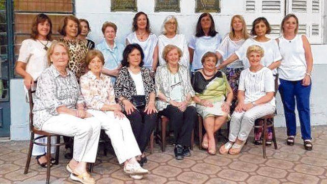 Comisión directiva. Son 21 las mujeres que gestionan